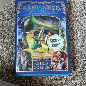Signed copy of the land of stories